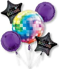 70's Disco Fever Bouquet Of Balloons: Kitchen & Dining - Amazon.com