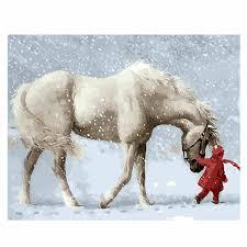 <b>WONZOM</b> Horse <b>Painting</b> By Numbers Animal Oil <b>Painting</b> Cat ...
