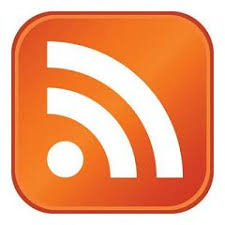 Orange RSS feed button