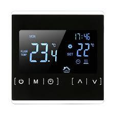 <b>MH1822</b>/1821 термостат, сенсорный экран 110 В 220 В, черный ...