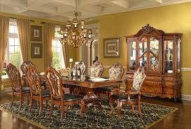 Formal Dining Room Sets With China Cabinet Brussels Formal Dining Room Set 9 Piece W China Cabinet Ebay