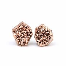 Fashion Round Champagne Opal Raw Mineral <b>Druzy Agates</b> ...