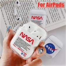 Cool <b>Airpods Case</b> NASA American Astronaut Space <b>Cover Case</b> ...