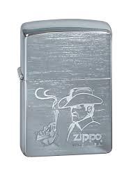 """<b>Зажигалка Zippo</b> """"Classic. <b>Cowboy</b>"""", 3,6 х 1,2 х 5,6 см — купить в ..."""