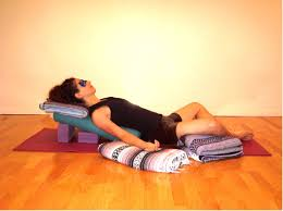 Image result for restorative yoga images