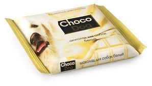 Купить <b>Лакомство для собак ВЕДА</b> Choco Dog шоколад белый ...