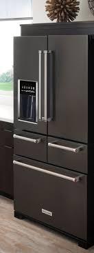 black appliance matte seamless kitchen: black stainless steel appliances give your kitchen a bold sleek look kitchenaids
