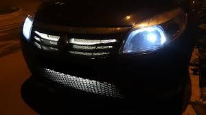 <b>ПОДСВЕТКА РЕШЕТКИ РАДИАТОРА</b> — Renault Sandero, 1.6 л ...