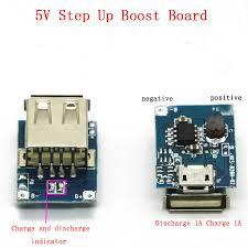 5PCS/Lot DC DC 0.9V <b>5V</b> to <b>5V</b> 600MA Power Bank Module Step ...