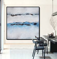Large Abstract Painting <b>Canvas</b> Art, <b>Landscape Painting</b> On <b>Canvas</b> ...