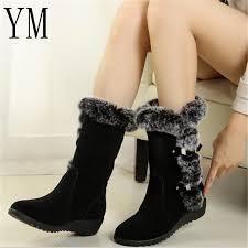 <b>2019 New Hot</b> Women Boots Autumn Flock Winter Ladies <b>Fashion</b> ...