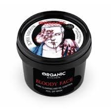 Очищающая <b>маска</b>-<b>пленка для лица</b> Organic kitchen Bloody <b>Face</b> ...