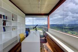 home office space with ample natural ventilation beautiful home office view