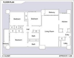 images about CFA Sasebo  Japan on Pinterest   Bedroom Floor    CFA Sasebo   Hario Village Tower  bedroom apartment floor plan  Type D