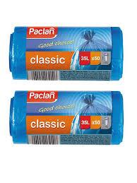 20% <b>Paclan</b> Мешки для <b>мусора</b> 35 л 50х60см <b>CLASSIC</b> 100 шт.