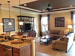kitchen family room layout top small