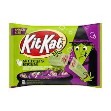KIT KAT® <b>Halloween Witch's</b> Brew Marshmallow-Flavored White ...