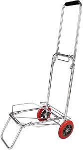 <b>DSC</b> Enterprise Foldable Travel Luggage 2 Wheels <b>Stainless Steel</b> ...