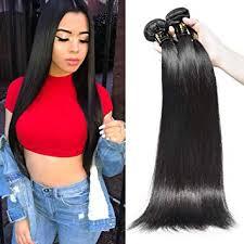 AOSUN HAIR Brazilian Straight Hair Bundles 1 ... - Amazon.com