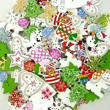 <b>20PCS Mixed Christmas</b> Shoes Tree Snowman Wooden Flatback ...