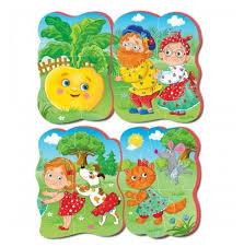 Набор <b>пазлов Vladi Toys</b> Репка (VT1106-63) — купить по ...