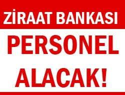 Ziraat Bankası Personel Alımı 2012