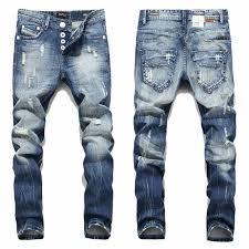 <b>2019</b> New Hot Sale Fashion Men Jeans <b>Balplein Brand</b> Straight Fit ...
