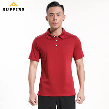 <b>Supfire Men Sports Polo</b> Shirt Running Cycling Fishing T shirt ...