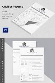 cashier resume template 11 word excel pdf psd format basic cashier resume word