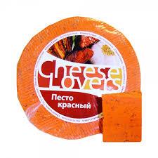 Купить <b>Сыр CHEESE LOVERS песто</b> красный, ~1кг БЗМЖ в ...