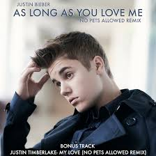 No Pets Allowed with a double header as his first release for the year. Delving into electro house for his remix of Justin Bieber's As Long As You Love Me ... - NPAJNALAYLMCoverArtwork