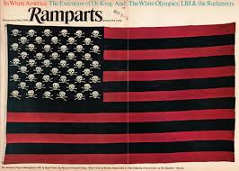 the american flag as redesigned in by mark twain ramparts the american flag as redesigned in 1901 by mark twain ramparts 1968 and as for a flag for the philippine province it is easily managed