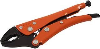 Gray Tools Grip-on <b>5</b>-<b>Inch Locking Pliers</b>, 1-1/8-Inch Jaw Opening ...