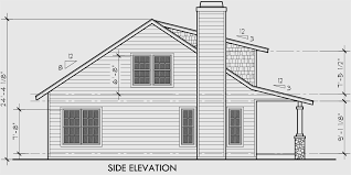 Bungalow House Plans    Story House PlansHouse front drawing elevation view for Bungalow House Plans  Large Porch House Plans