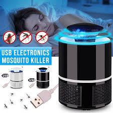 USB Electronics Mosquito Killer Trap <b>Moth Fly Wasp</b> LED Night ...