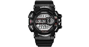 <b>LED Digital Wrsitwatches</b> S Shock Resistant Army Men Watches ...