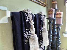 guest bathroom towels: unique  decorative bath towels with tassels unique