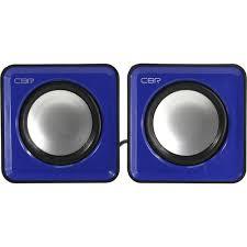 Компьютерные <b>колонки CBR CMS 90</b> Black, Blue — купить, цена ...
