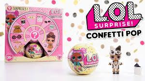 LOL Surprise! | Series 3 Confetti Pop Tots Dolls Unboxing Balls | :30 ...