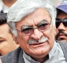 New Delhi, April 20 : Afsandyar Wali Khan, a top leader of Pakistan's ruling coalition and grandson of legendary Pashtun leader Khan Abdul Ghaffar Khan, ... - wali-khan
