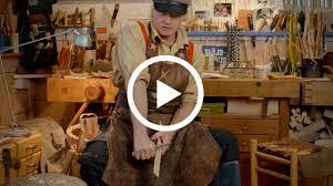 Обработка древесины при помощи <b>ножа Morakniv Woodcarving</b> 106