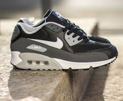 nike air max 90 black grey white black grey nike air