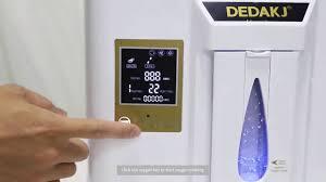 <b>DEDAKJ DE</b> 1L oxygen concentrator generator - YouTube