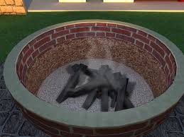 ways to build a campfire wikihow build a backyard firepit