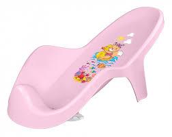 <b>Горка для купания</b> детей с декором (розовый)