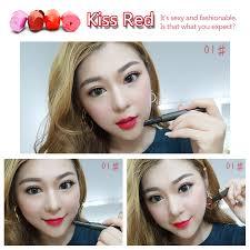 <b>LAMILEE Brand</b> Push Button Press Matte Lipstick <b>Cosmetic</b> Tint ...