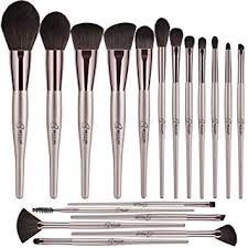 <b>Makeup Brushes</b> BESTOPE 18PCS Premium <b>Champagne</b> Gold ...