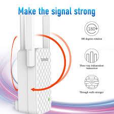 <b>Tenda</b> A12 300Mbps <b>WiFi</b> Repeater <b>Wireless Range Extender Wi Fi</b> ...