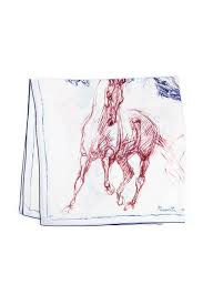 <b>Hermes</b> Cream Cashmere Pirouette au <b>Galop</b> Shawl - Buy for ...