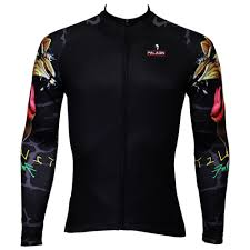 <b>Gypsy Lion</b> Pattern Mens Specialty Long sleeve Cycling Jersey ...